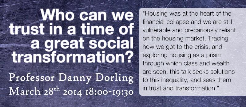 Event: University of Oxford's Professor Danny Dorling