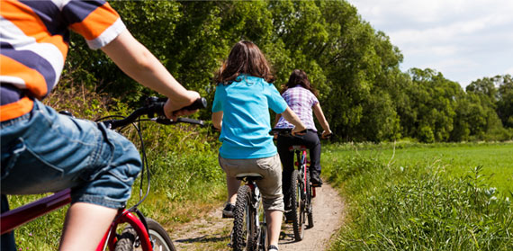 Health benefits of 'green exercise' for kids shown in new study