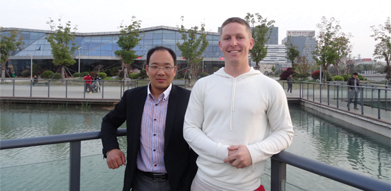 Dr Matthew Blackett's Trip to China Sparks Future Research Plans