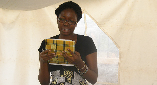 Creative Writing Workshop in Uganda: Writing for Healing