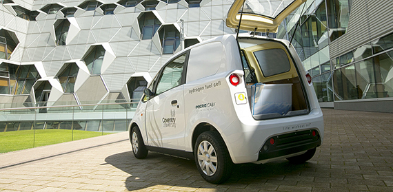 Hydrogen van in top engineering event showcase