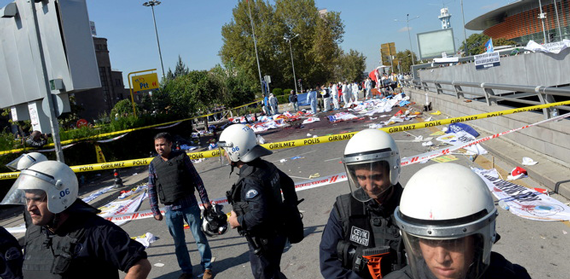 Ankara Bombing Kills Dozens Calling for Peace in Turkey