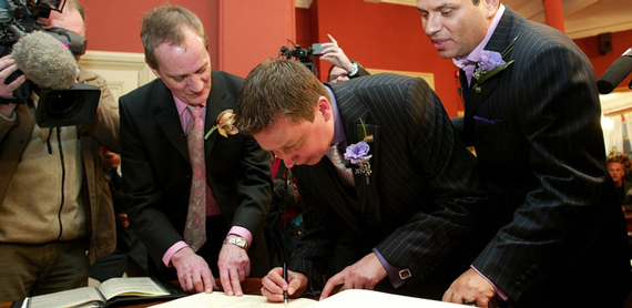 After Ten Years of Civil Partnerships, We Still Aren't Sure What They Mean or Who They're for
