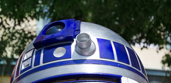 The Man, not Inside, but Behind R2D2