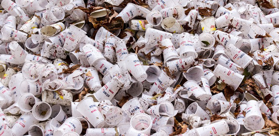 Minutes on the Lips, a Lifetime on the Tip: the Coffee Cup Waste Mountain