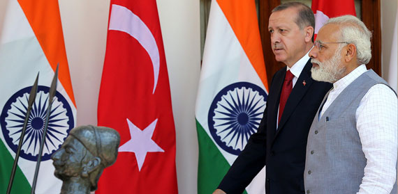 Modi and Erdoğan: Strong Leaders putting their Democracies in Peril