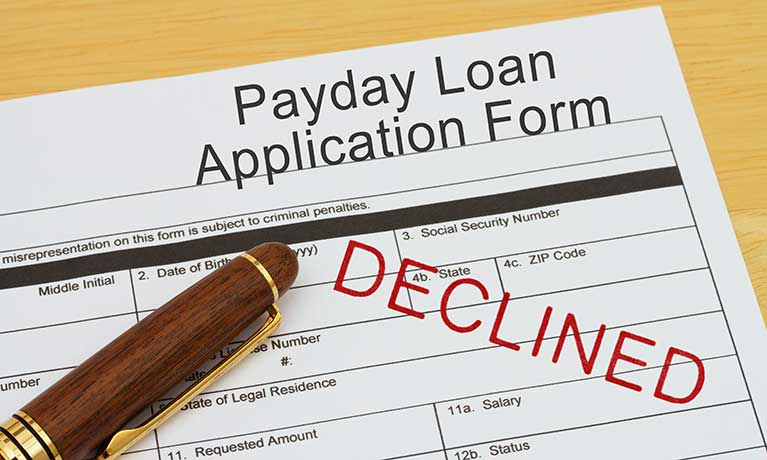 Payday Denied: Exploring the lived experience of declined payday loan applicants