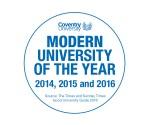 'Modern University of The Year'…3rd Year Running!