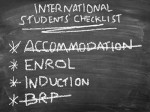 International Students' January Start Checklist