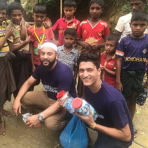 Coventry-University's-Muslim-Chaplain-Sewrazul-and-Refugees-in-Myanmar