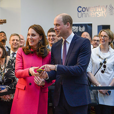 Kate-and-William-pressing-button-on-grand-opening-of-new-science-and-health-building