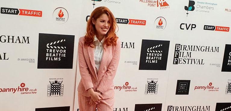 Maria at Birmingham Film Festival